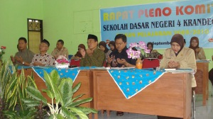 Rapat Pleno dengan wali murid dan Komite