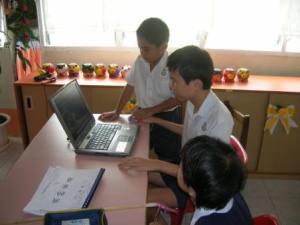Belajar dengan menggunakan komputer, bukan belajar menggunakan komputer